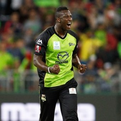 Andre Russell Top class all rounder of Sydney Thunder