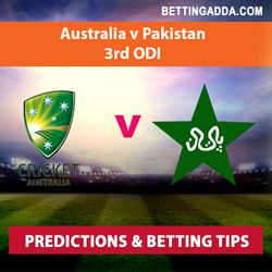 Australia v Pakistan 3rd ODI Prediction and Betting Tips