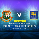 Bangladesh vs Sri Lanka 2nd T20I Prediction Betting Tips Preview