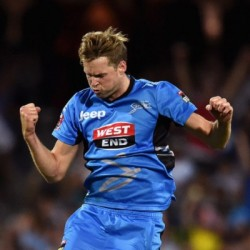 Ben Laughlin Impressive bowler of Adelaide Strikers