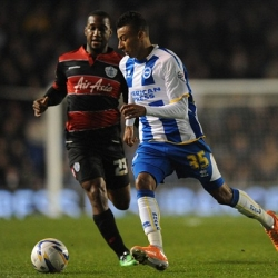 Jesse Lingard will be hoping to boost Brighton