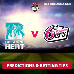 Brisbane Heat v Sydney Sixers BBL 06 2nd Semi Final Predictions and Betting Tips