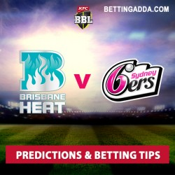 Brisbane Heat v Sydney Sixers BBL 2016-17 Predictions Betting Tips