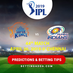 Chennai Super Kings vs Mumbai Indians 44th Match Prediction Betting Tips Preview