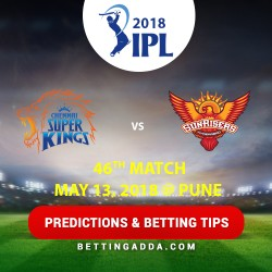 Chennai Super Kings vs Sunrisers Hyderabad 46th Match Prediction Betting Tips Preview 1