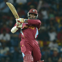 Chris Gayle Unbeaten 100 off 48 vs England