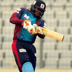 Chris Gayle Unbeaten 92 off 47 balls