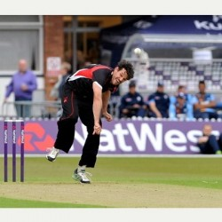 Clint McKay Successful bowler of Leicestershire Foxes