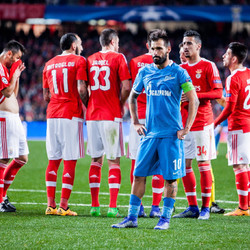 Will FC Zenit be able to bounce back after first-leg's defeat at Estádio da Luz?