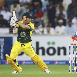 David Warner 77 off 40 in the 2nd T20
