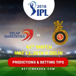 Delhi Daredevils vs Royal Challengers Bangalore 45th Match Prediction Betting Tips Preview 2