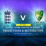 England vs Australia 4th ODI Prediction Betting Tips Preview