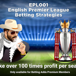 EPL001 English Premier League Betting Strategies