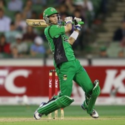 Glenn Maxwell Second fifty for Melbourne Stars