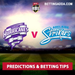 Hobart Hurricanes v Adelaide Strikers BBL 2016 17 Predictions Betting Tips