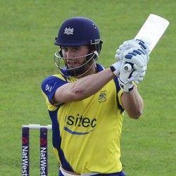 Ian Cockbain 75 off 39 balls for Gloucestershire