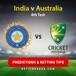 India v Australia 4th Test Predictions and Betting Tips