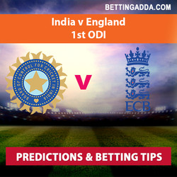 India v England 1st ODI Predictions and Betting Tips