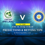 Ireland vs India 1st T20I Prediction Betting Tips Preview