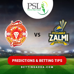 Islamabad United vs Peshawar Zalmi 4th Match Prediction Betting Tips Preview
