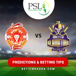 Islamabad United vs Quetta Gladiators 9th Match Prediction Betting Tips Preview