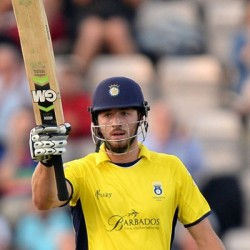 James Vince 107 off 65 in the Quarter Final