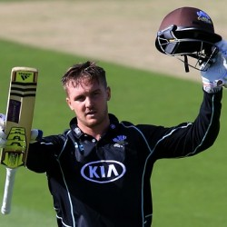 Jason Roy Second hundred of the event in the quarter final