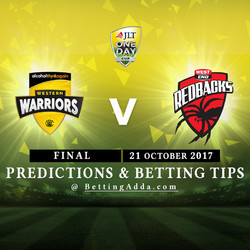 JLT Cup 2017 final Western Australia v South Australia Prediction and Betting Tips