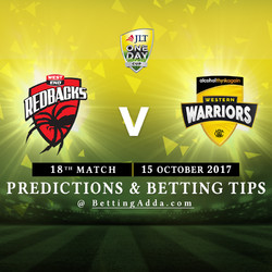 JLT Cup 2017 South Australia v Western Australia 18th Match Prediction and Betting Tips