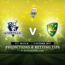 JLT Cup 2017 Victoria v Cricket Australia XI 13th Match Prediction and Betting Tips
