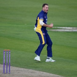 John Hastings Durham highest wicket taker of the event with 17