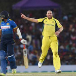 John Hastings SL v AUS 4th ODI 2016