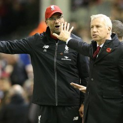 Jurgen Klopp and Alan Pardew