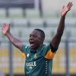 Kagiso Rabada 6 16 on debut