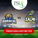 Karachi Kings vs Peshawar Zalmi 7th Match Prediction Betting Tips Preview