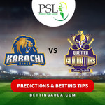 Karachi Kings vs Quetta Gladiators 2nd Match Prediction Betting Tips Preview