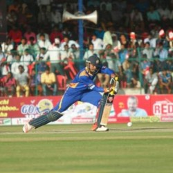 KB Pawan Highest run getter for Hubli Tigers with 193