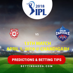 Kings XI Punjab vs Delhi Capitals 13th Match Prediction Betting Tips Preview