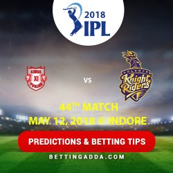 Kings XI Punjab vs Kolkata Knight Riders 44th Match Prediction Betting Tips Preview 1