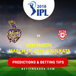 Kolkata Knight Riders vs Kings XI Punjab 6th Match Prediction Betting Tips Preview