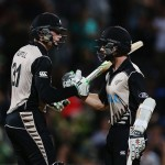 Martin Guptill and Kane Williamson Unbeaten 171 for the first wicket