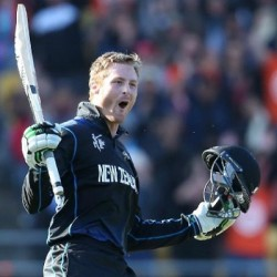 Martin Guptill Fastest ODI fifty for New Zealand