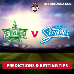 Melbourne Stars v Adelaide Strikers Prediction and Betting Tips