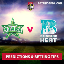 Melbourne Stars v Brisbane Heat Predictions and Betting Tips