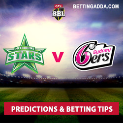 Melbourne Stars v Sydney Sixers Predictions and Betting Tips