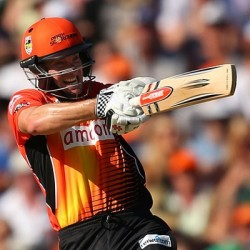 Michael Klinger Unbeaten 53 for Perth Scorchers