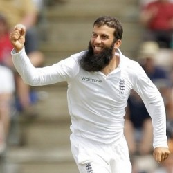 Moeen Ali Player of the match for 7 116