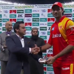 Mohammad Irfan Player of the match