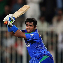 Mohammad Shahzad A front line batsman of Afghanistan