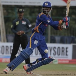 Mohammed Taha 93 off 56 for Hubli Tigers